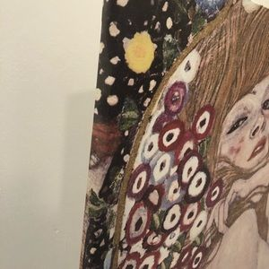 "IKEA Gustav Klimt ""Water Serpents"" canvas55"" x 22"""
